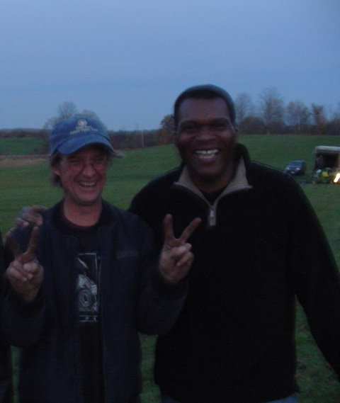 Me and Robert Cray - Peace Boots